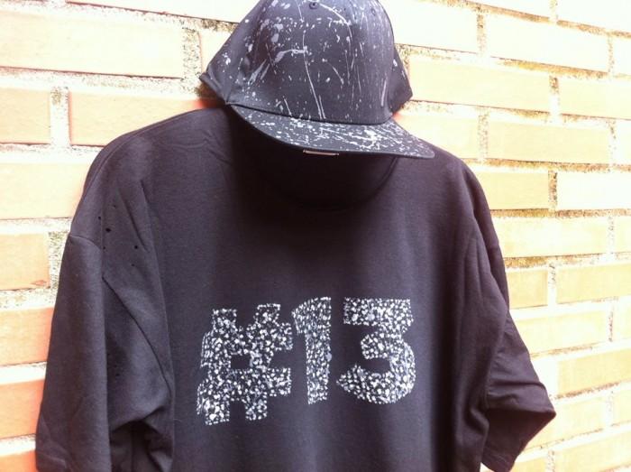 Camiseta numero 13